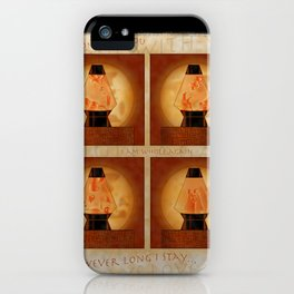 A Moment In Time (Red) iPhone Case