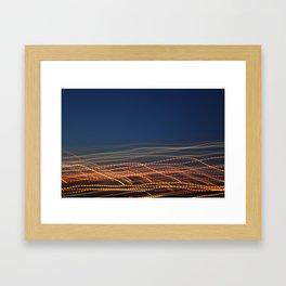 Ocean of Light Framed Art Print
