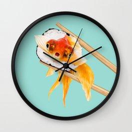 SUSHI GOLDFISH Wall Clock