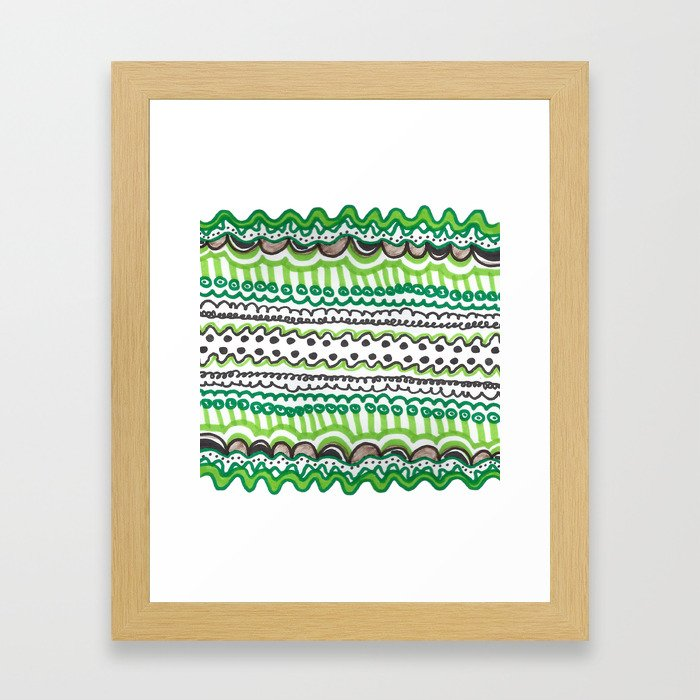 Cellular Framed Art Print