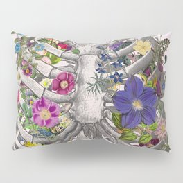 Ribs and flowers Pillow Sham