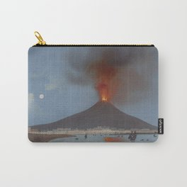 ETNA VOLCANO Sicily Eruption Carry-All Pouch