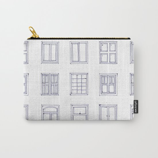 windows sketch Carry-All Pouch