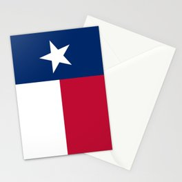 State flag of Texas, official banner orientation Stationery Cards