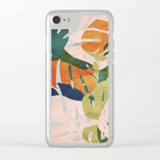Monstera delight Clear iPhone Case