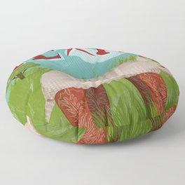 Texas Floor Pillow