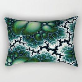 Featherscape Fractal Rectangular Pillow