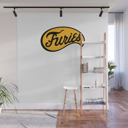 BASEBALL FURIES Wall Mural