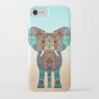 orange iPhone & iPod Cases featuring ElePHANT by Monika Strigel