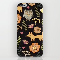 Сhildren's seamless with animals iPhone & iPod Skin