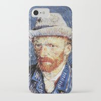 van gogh iPhone & iPod Cases featuring Van Gogh  by klausbalzano