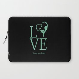 Love Kitty Valentines Love Laptop Sleeve