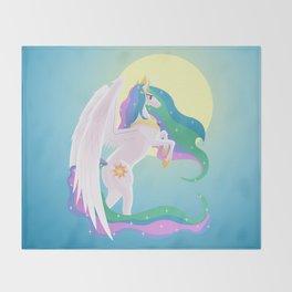Sunlight Princess Throw Blanket