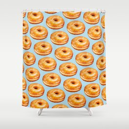 Donut Pattern - Glazed Shower Curtain