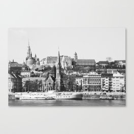 A Nice Day in Budapest Canvas Print