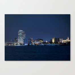 Downtown Clearwater Canvas Print