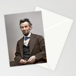 Abraham Lincoln Painting Stationery Cards