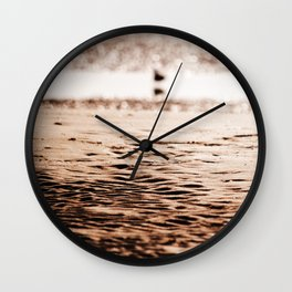 Sand, Sun, Sea Wall Clock