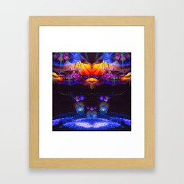 Rêveur Framed Art Print