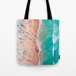 Half Sand Half Sea Tote Bag