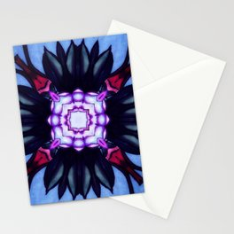 Kaleidoflower 2 Stationery Cards