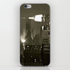 NYC under the moon iPhone & iPod Skin