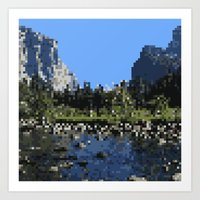 8 bit Art Prints featuring 8-bit by Stakers
