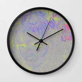FINDING MYSELF Wall Clock