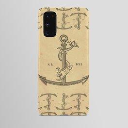 Aldus Manutius Printer Mark Android Case
