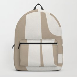Neutral Abstract 5A Backpack