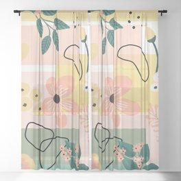 Terra firma Sheer Curtain