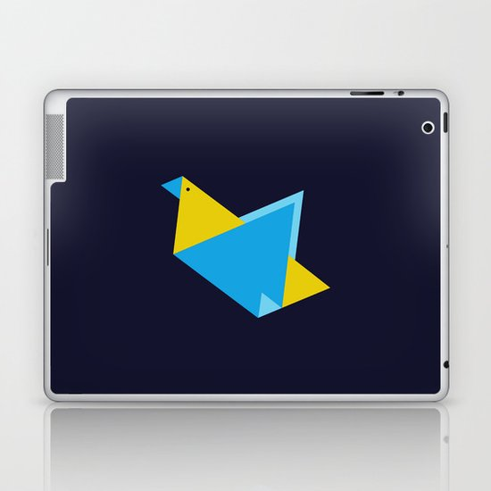Triangle Bird Laptop & iPad Skin