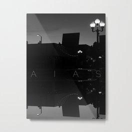 AIAS Mirrored Metal Print