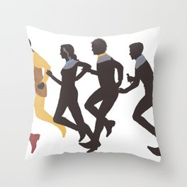 Away Mission: Deep Space 9 Throw Pillow