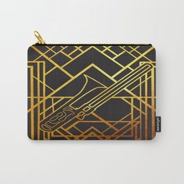 Art Deco Basun Carry-All Pouch