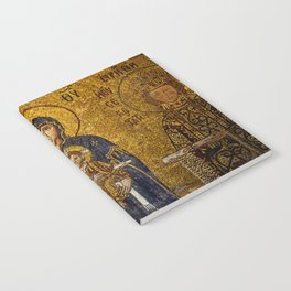 Mosaic Mary and Jesus Notebook
