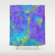Psychedelic Mushrooms Effects Shower Curtain