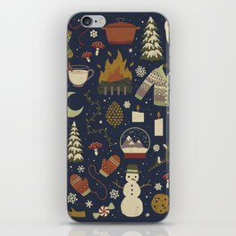 Winter Nights iPhone Skin