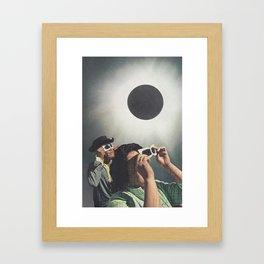 Lunar Moon Framed Art Print