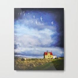 Iceland Home Metal Print