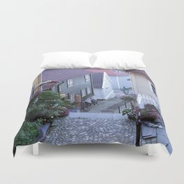 Bergen - Norway  Duvet Cover
