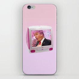 Kawaii Trump Glitter Puke iPhone Skin