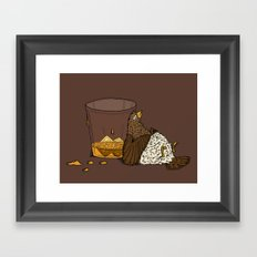 Thirsty Grouse - Colored! Framed Art Print