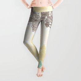 Digital painting Leggings