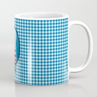 cherry Mugs featuring Cherry by Andi Lee artworks