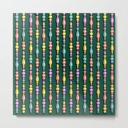 Christmas decorations - Pine tree green Metal Print