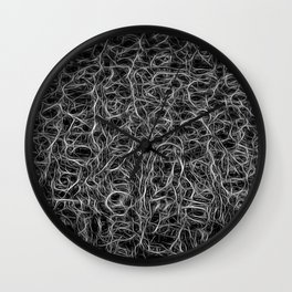 The Atlantis protection web  Wall Clock