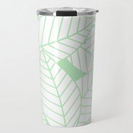 Leaves in Wintergreen Travel Mug