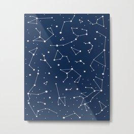 Constellations Metal Print