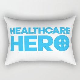 Nurse Gifts, Healthcare hero, ER emergency nursing, Medical assistant, doctor Rectangular Pillow